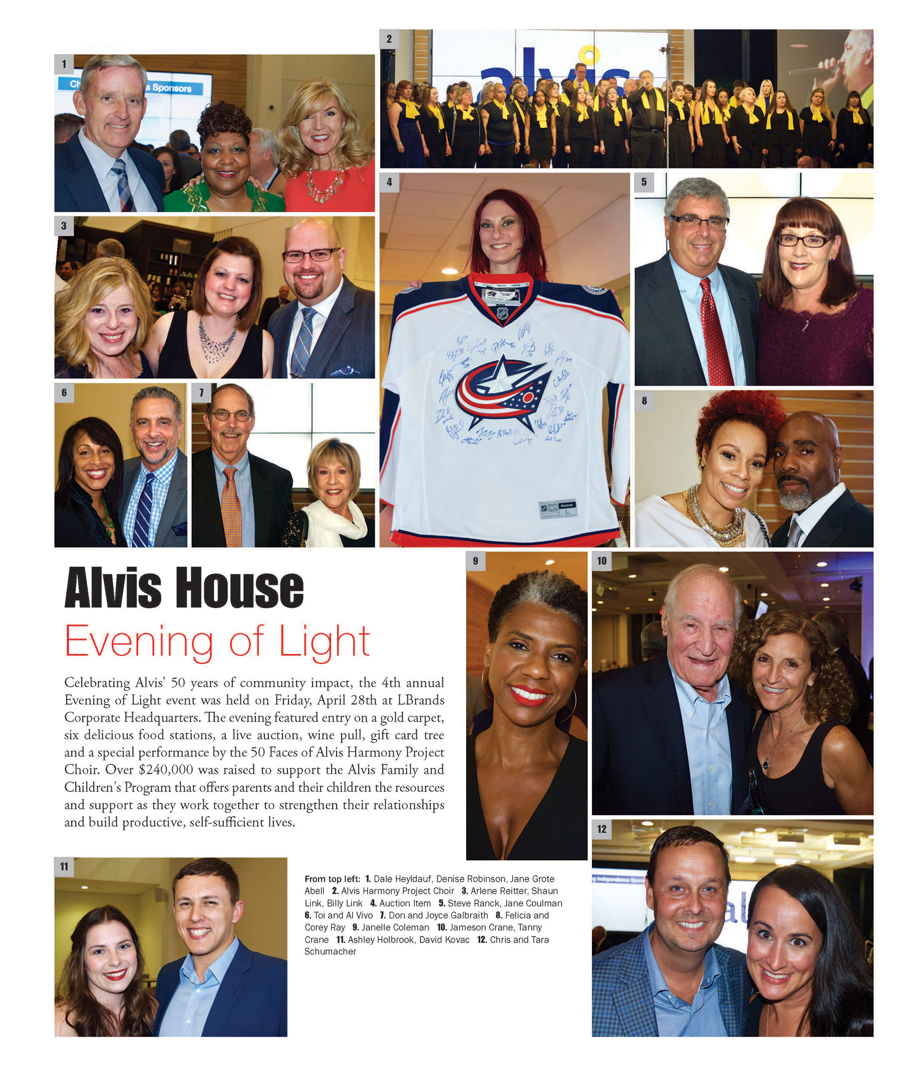 Alvis House – Evening of Light