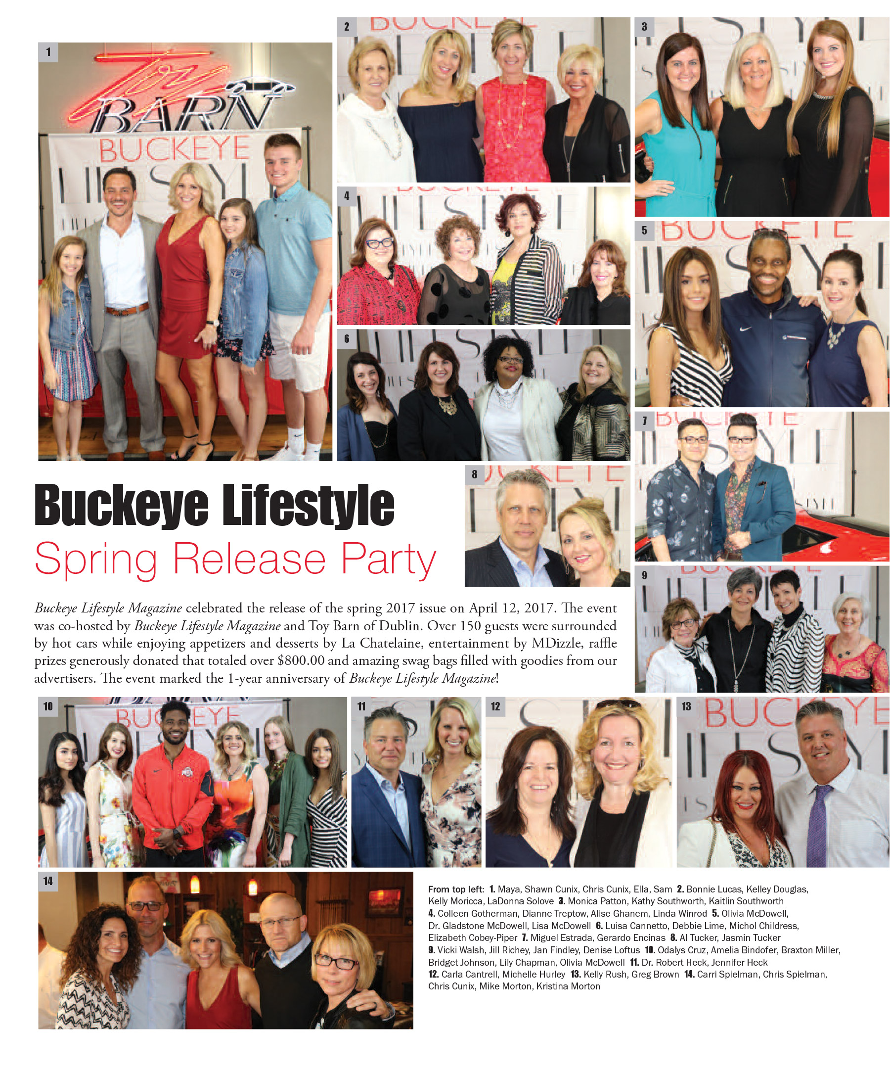 Buckeye Lifestyle – spring release party