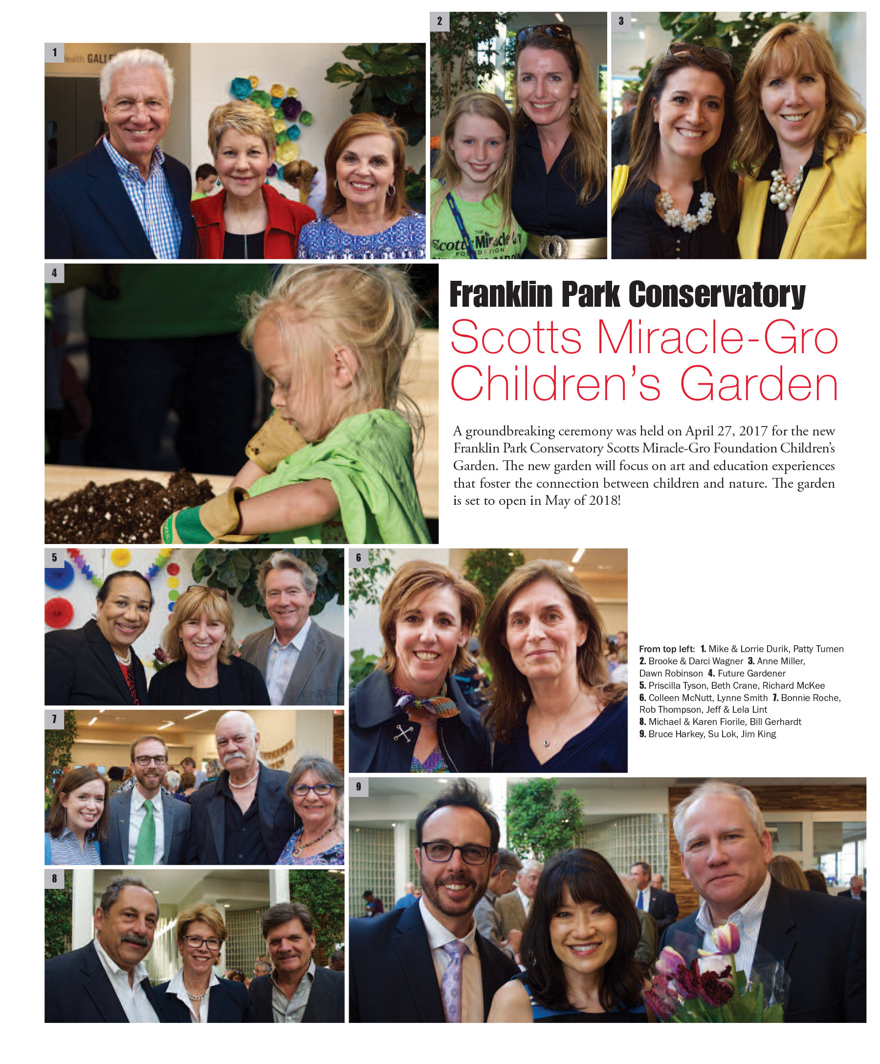 Franklin Park Children's garden