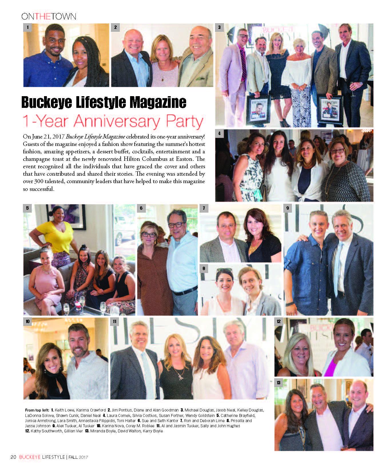 Buckeye Lifestyle Magazine – 1 Year Anniversary