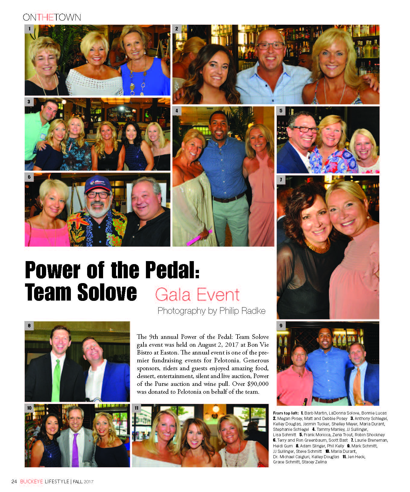 Power of the Pedal – Team Solove