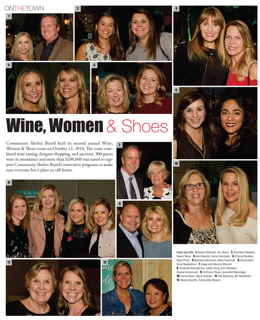 Wine, Women & Shoes