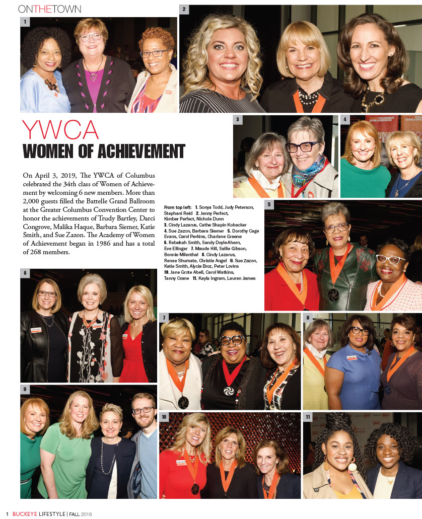 YWCA WOMEN OF ACHIEVEMENT