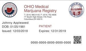 ohio medical marijuana card