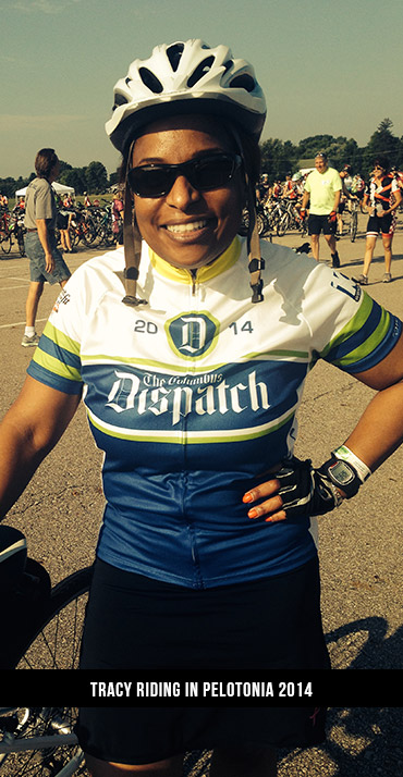 Tracy-riding-in-Pelotonia-2014