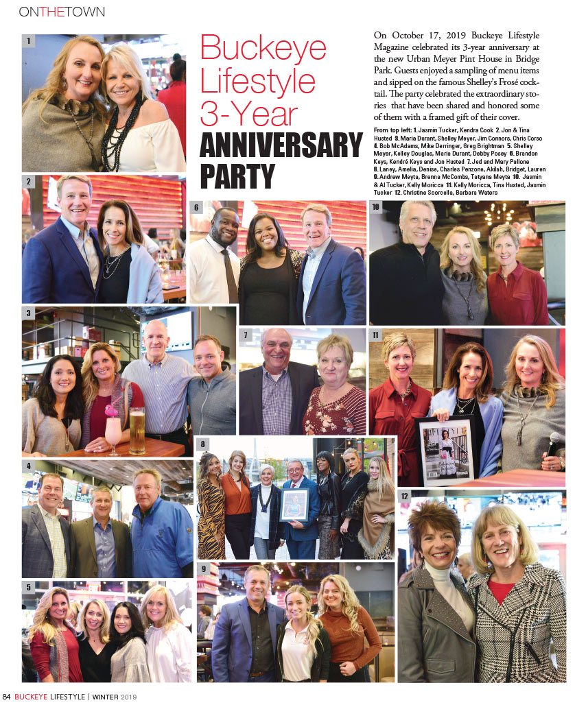 Buckeye Lifestyle 3 Year ANNIVERSARY PARTY