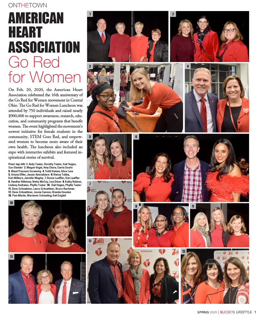 AMERICAN HEART ASSOCIATION – Go Red  for Women