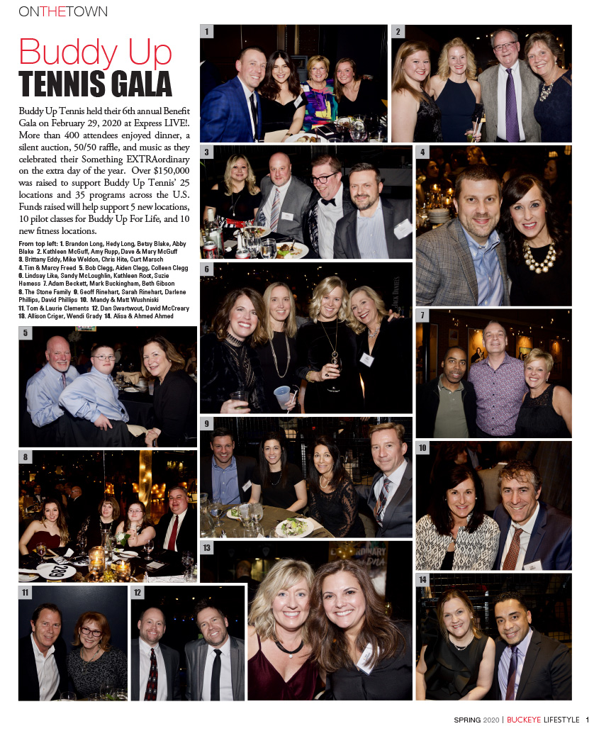 Buddy Up TENNIS GALA