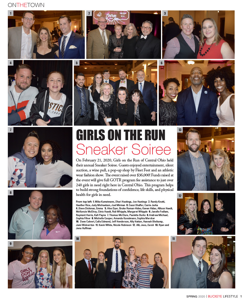 GIRLS ON THE RUN Sneaker Soiree