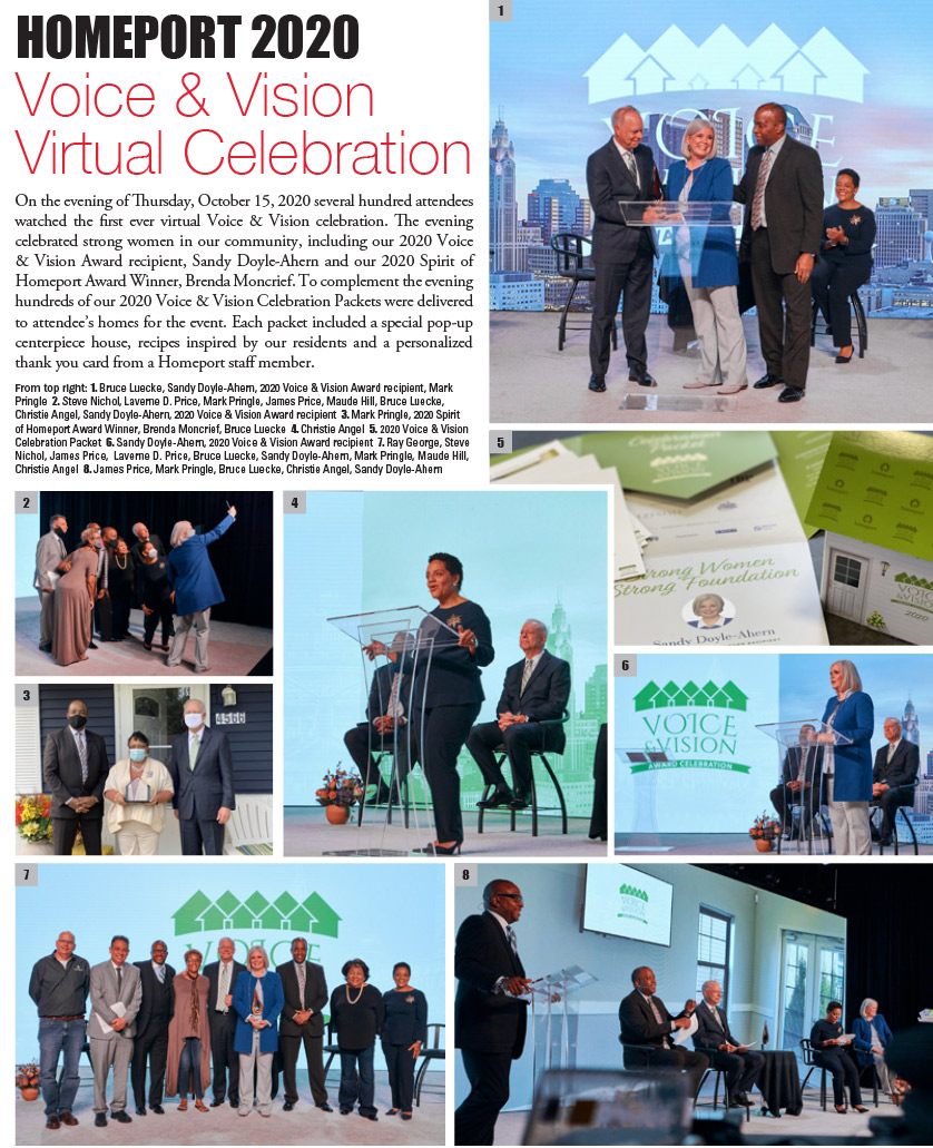 HOMEPORT 2020 Voice & Vision Virtual Celebration