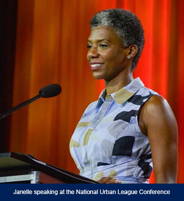 Janelle-Speaking-National-Urban-League-Conference