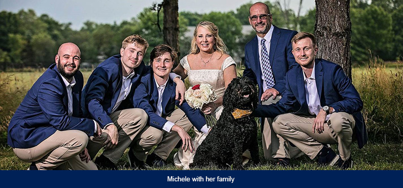 michele-with-family